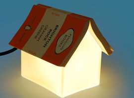 The Book Rest Lamp Both Functional and Fun