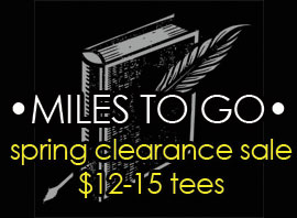 •MILES TO GO• spring clearance sale! $12-15 tees