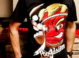 I Will Pong You Tees Release Today! Comes With Free Pong Deck!