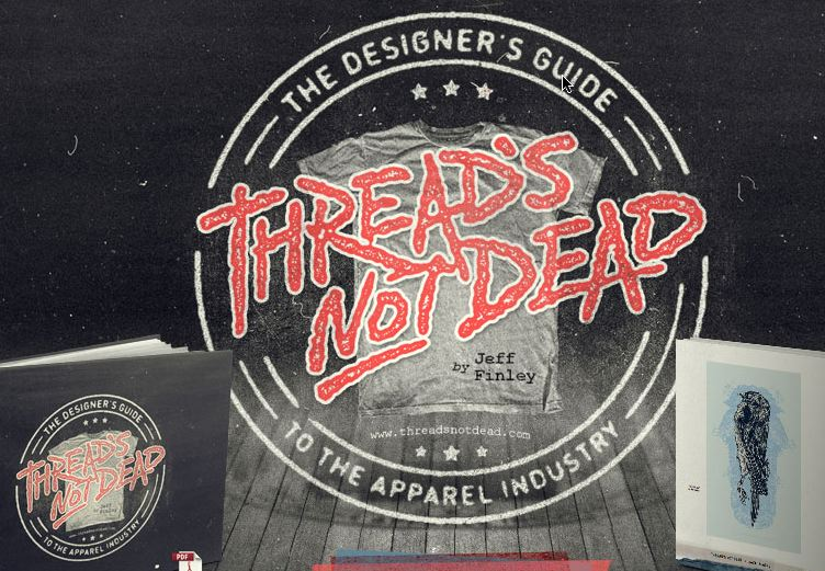 "Threads Not Dead Ebook ""Essential Guide For Dominating The T-Shirt Design Biz"""