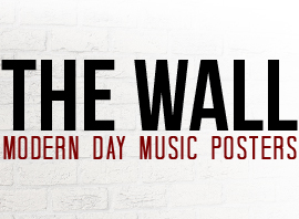 New eBook, The Wall: Modern Day Music Posters Now Available