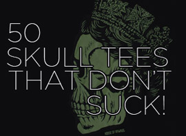 50 Awesome Skull T-Shirts That Don't Suck!