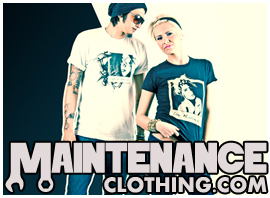 MAINTENANCE Clothing is no longer under maintenance!