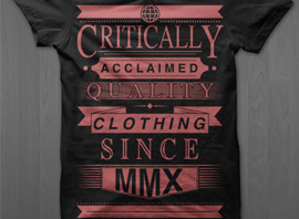 Critically Acclaimed Tees on Sale!