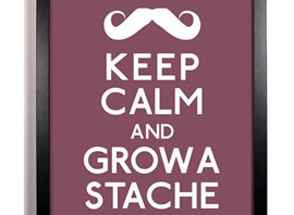 18 Awesome Mustache Items To Help You Power Through Movember