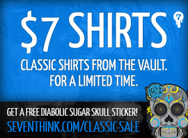 Seventh.Ink $7 Classic Shirt Sale