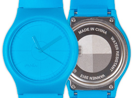 Vannen Watches CMYK Series: Cyan!