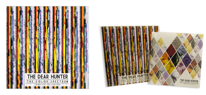 Music News THE DEAR HUNTER COLOR SPECTRUM PREORDER