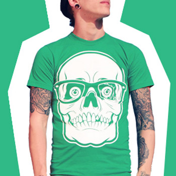 DEATH-SHRED-SKULL-T-SHIRT