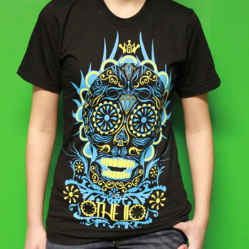OTHELLO-SUGAR-SKULL-TEE