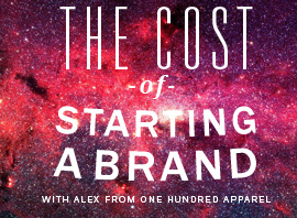 The Costs of Starting a Clothing Brand