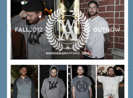Monogram Apparel 2012 Fall Collection