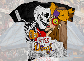 Kiss of Death Tee