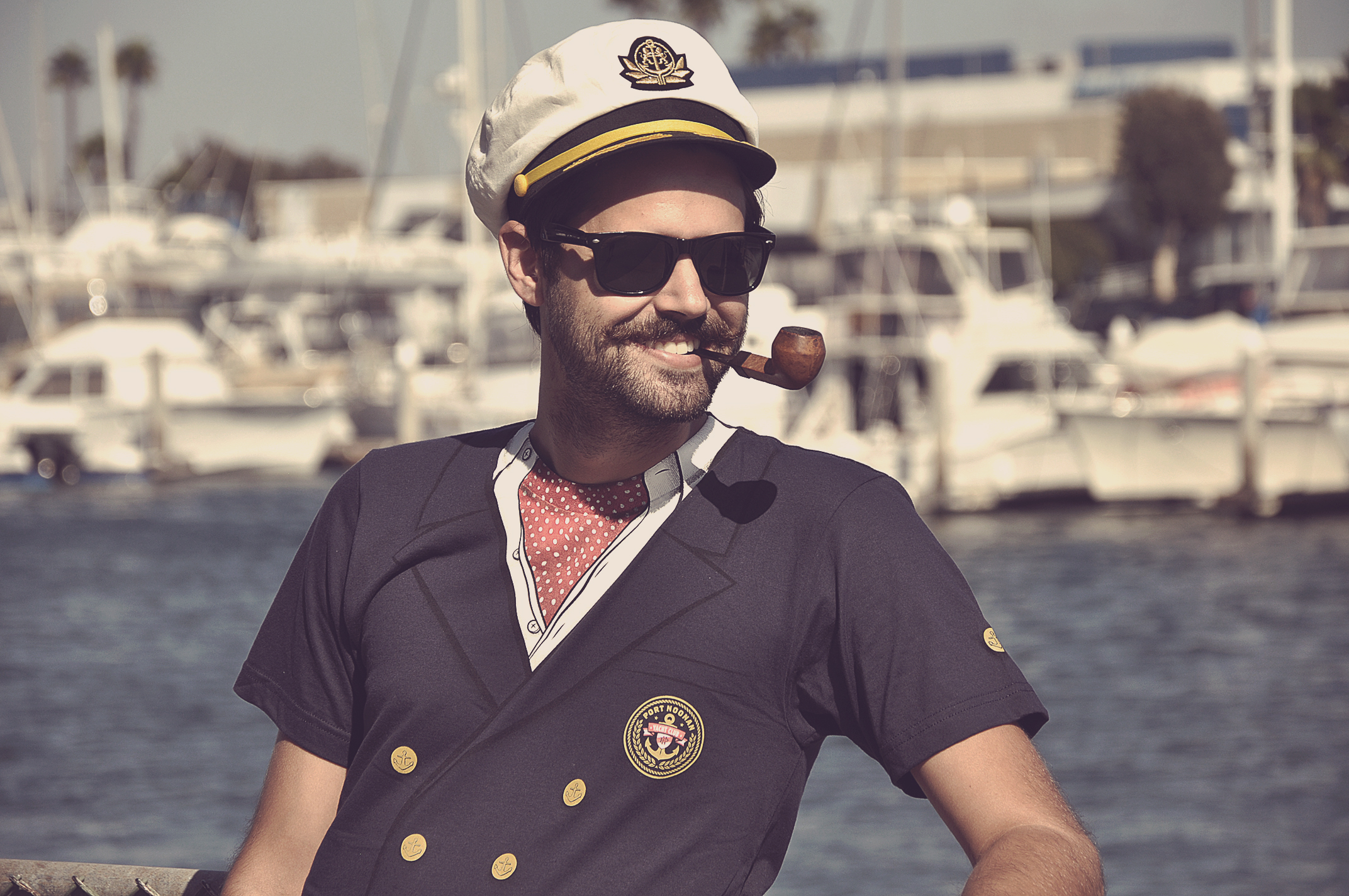 The Port Noonan Yacht Club Ascot T-Shirt
