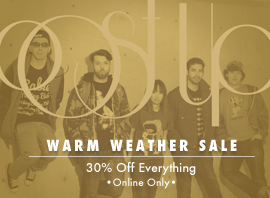 PostUp 30% Off Warm Weather Sale!