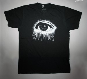 mens's eye tshirt black-white6.1 copy - 001