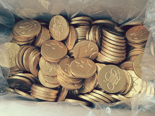 DreamGoldChocolateCoins2012